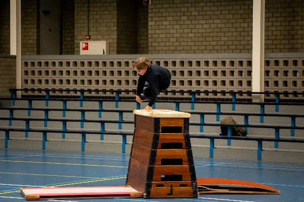 speedvault freerunning flexbeweging