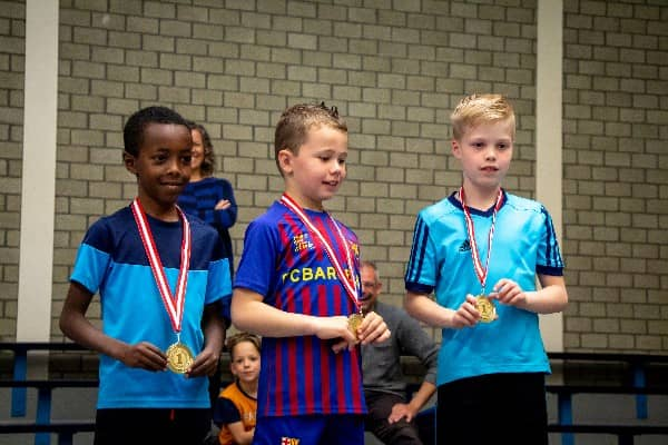 winnaars flexbeweging freerun