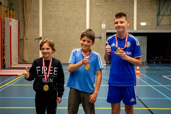 winnaars freerun flexbeweging